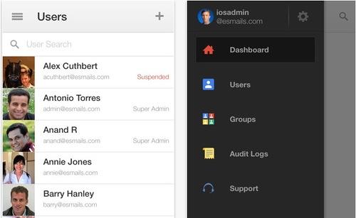Обновлено приложение Google Admin для операционной системы iOS