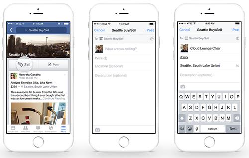 Продажи товаров через Facebook Groups